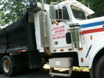 Muse HG has heavy equipment for hauling gravel, fill dirt, top soil, rip-rap or mulch.